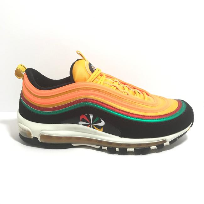 Item - Black/ Orange Air Max 97 Sneakers Size US 9.5 Regular (M, B)
