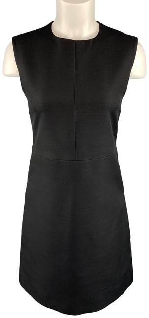 Item - Black Structured Sleeveless Shift Mid-length Casual Maxi Dress Size 2 (XS)