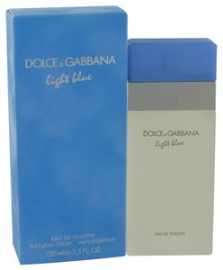 Dolce & Gabbana Light Blue Perfume by Dolce and Gabbana for Women 3.3 oz 100% Authentic