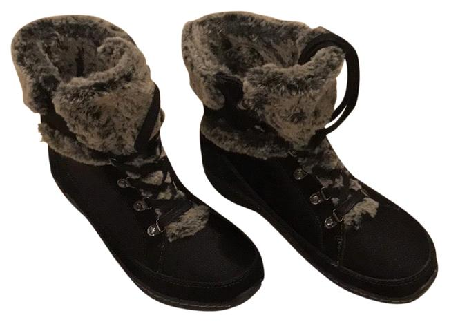 Item - Black Fiona Boots/Booties Size US 7.5 Regular (M, B)