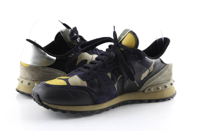 Item - Black Rockrunner Camoflouge Sneakers Shoes