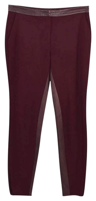 Item - Red Leather Trim #186-72 Pants Size 0 (XS, 25)