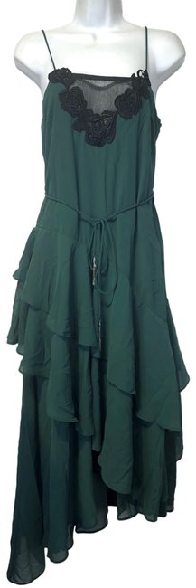 Item - Green Lucille Mid-length Cocktail Dress Size 2 (XS)