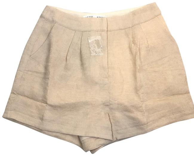 Item - Beige Nordstrom Accordion Pleated Off White Ivory Shorts Size 8 (M, 29, 30)