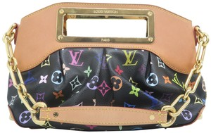Louis Vuitton Judy Pm Canvas Shoulder Bag