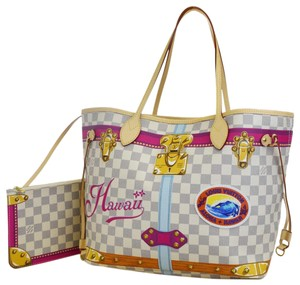 Louis Vuitton Made In Spain Tote in White