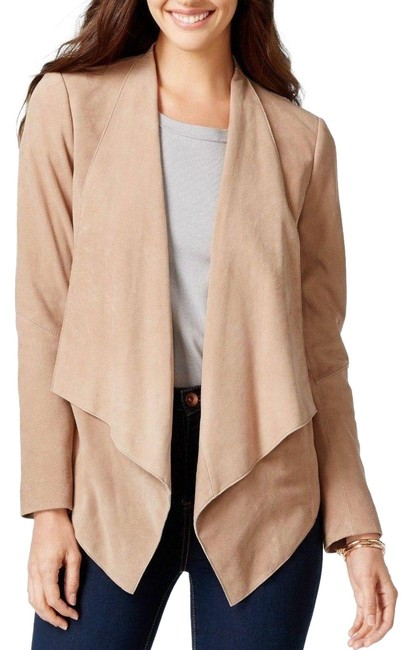 Preload https://img-static.tradesy.com/item/26403926/michael-kors-beige-open-drape-front-suede-jacket-size-20-plus-1x-0-2-650-650.jpg