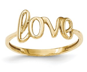 Apples of Gold 14K GOLD LOVE RING