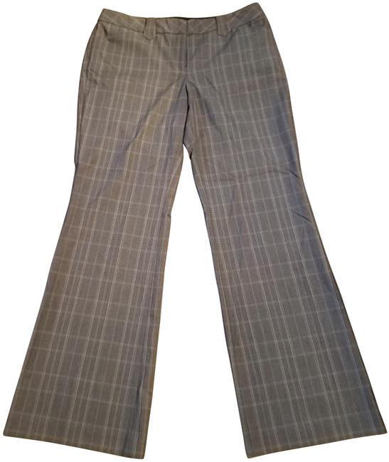 Item - Grey Plaid Editor Pants Size 10 (M, 31)