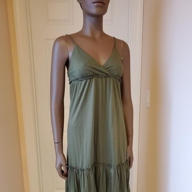 Item - Olive Green O Short Casual Dress Size 4 (S)