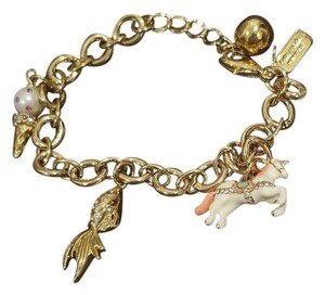 Kate Spade Kate Spade NY Gold Tone How Charming Carnival Nights Charm Bracelet