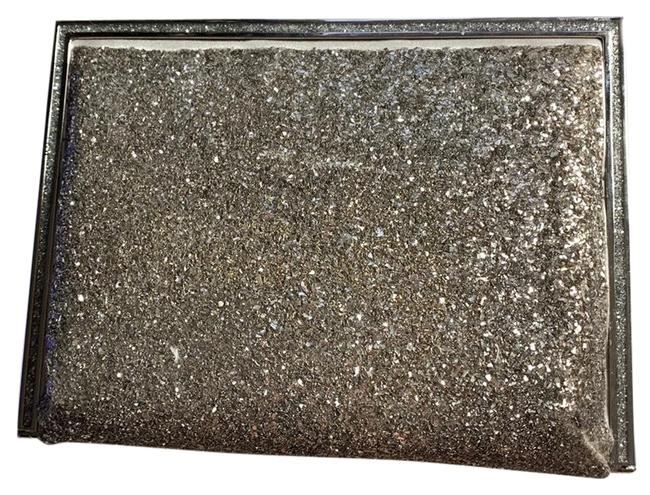 Item - Framed Glitter Silver Clutch