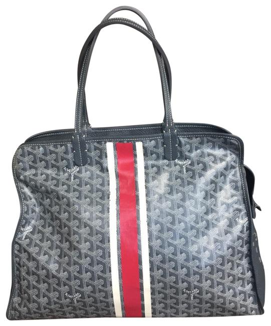 Item - Pm Sac Hardy Gray Canvas Tote