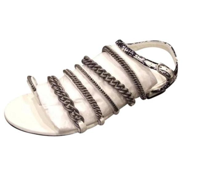 Item - White Silver Collection 2019 Sandals Size EU 40 (Approx. US 10) Regular (M, B)