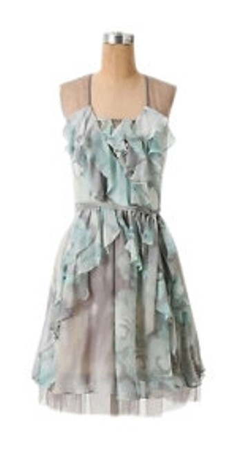 Preload https://item1.tradesy.com/images/tracy-reese-mutli-muted-teal-grey-anthropologie-dreamy-wanderings-knee-length-cocktail-dress-size-12-26405-0-0.jpg?width=400&height=650