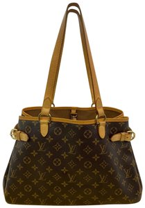 Louis Vuitton Monogram Vintage Small Hand Tote in Brown