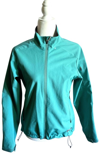 Item - Turquoise Blue Jacket A Activewear Size 4 (S)