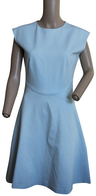 Preload https://img-static.tradesy.com/item/26408681/ted-baker-light-blue-fit-and-flare-crew-neck-us-short-workoffice-dress-size-6-s-0-2-650-650.jpg