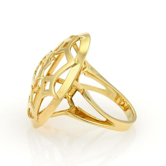 Tiffany & Co. Picasso Zellige 18k Yellow Gold Large Open Round Ring Image 2