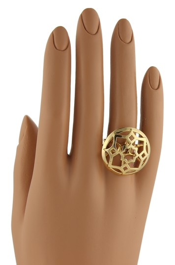 Tiffany & Co. Picasso Zellige 18k Yellow Gold Large Open Round Ring Image 4