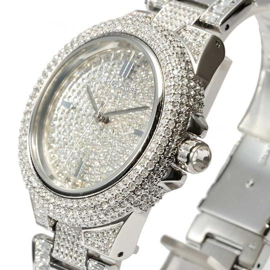 Michael Kors Camile Crystal Pave Dial Crystal Encrusted Ladies Watch M Image 4