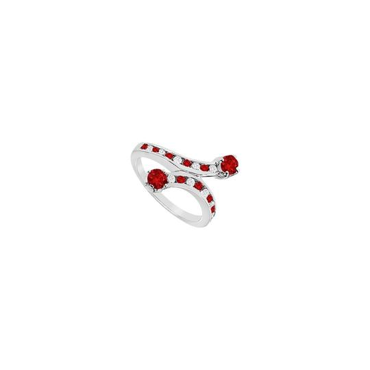 Preload https://img-static.tradesy.com/item/26408795/red-ruby-and-diamond-14k-white-gold-100-ct-tgw-ring-0-0-540-540.jpg