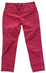 Cartonnier Straight Pants Pink and orange
