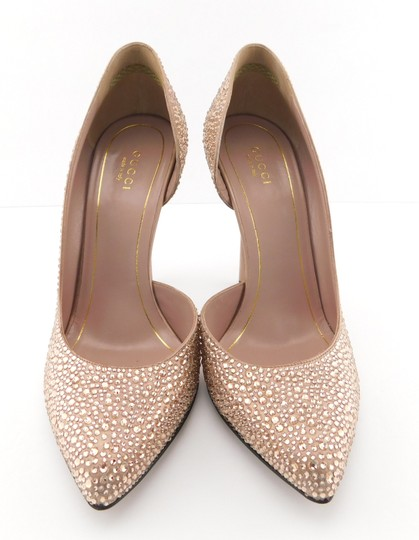 Gucci Glitter Party Wedding Pink So Kate Nude Blush Pumps Image 1