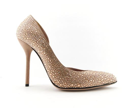 Gucci Glitter Party Wedding Pink So Kate Nude Blush Pumps Image 2