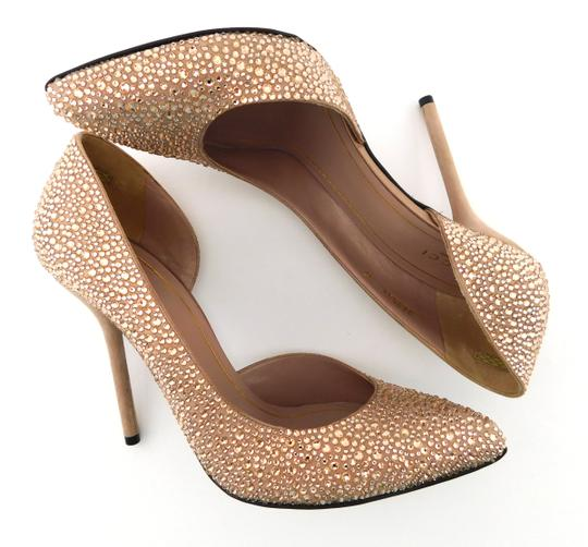 Gucci Glitter Party Wedding Pink So Kate Nude Blush Pumps Image 4