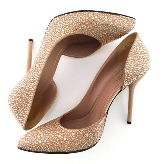 Gucci Glitter Party Wedding Pink So Kate Nude Blush Pumps Image 5