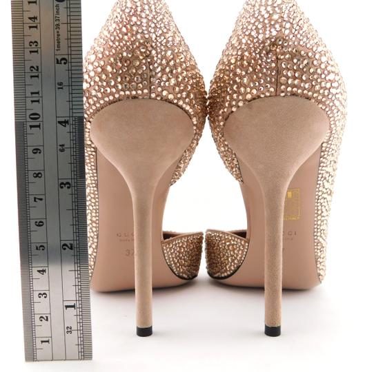 Gucci Glitter Party Wedding Pink So Kate Nude Blush Pumps Image 6