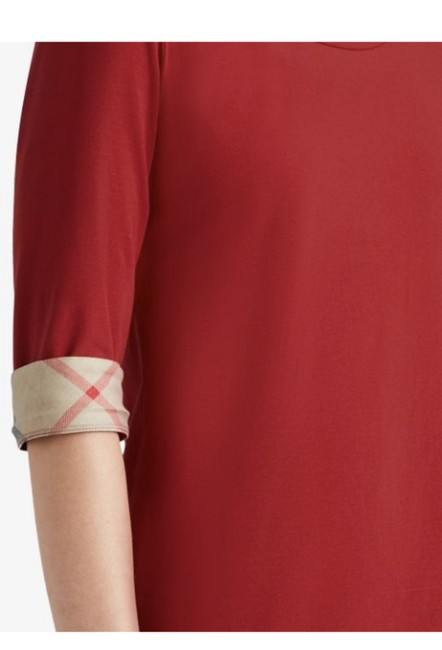 Burberry T Shirt Red Image 1