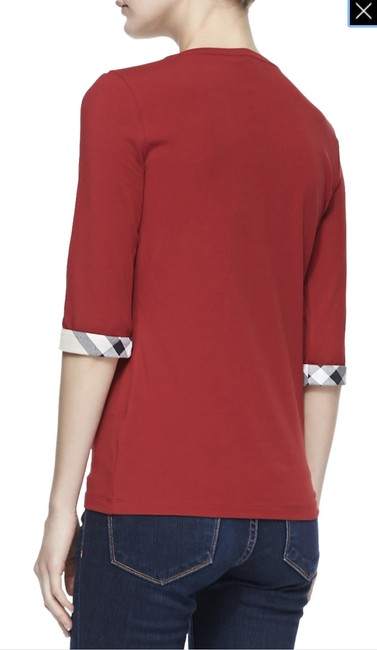 Burberry T Shirt Red Image 2