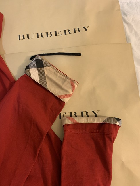 Burberry T Shirt Red Image 4