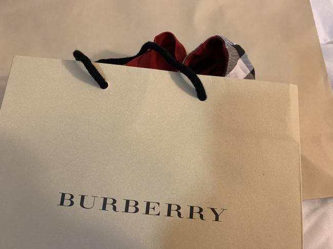 Burberry T Shirt Red Image 5