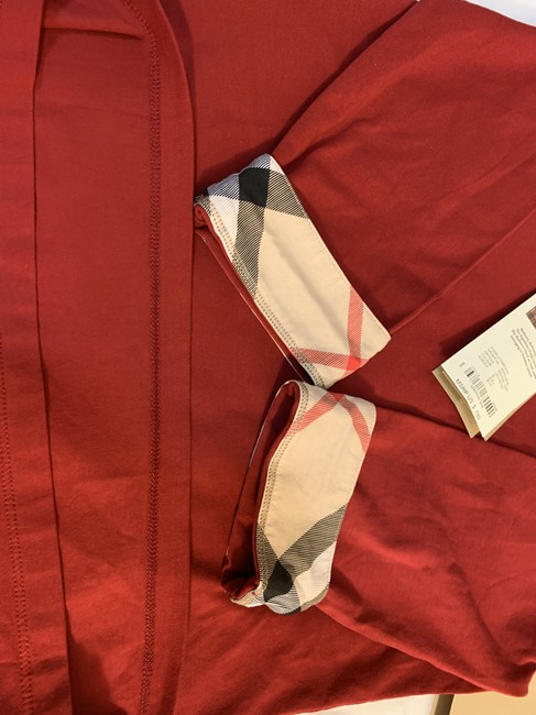 Burberry T Shirt Red Image 8
