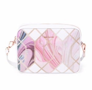 Ted Baker Sea Of Clouds Sky Coasted Canvas Camera Shoulder Cross Body Bag