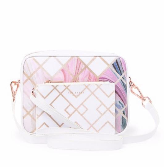 Ted Baker Sea Of Clouds Sky Coasted Canvas Camera Shoulder Cross Body Bag Image 1