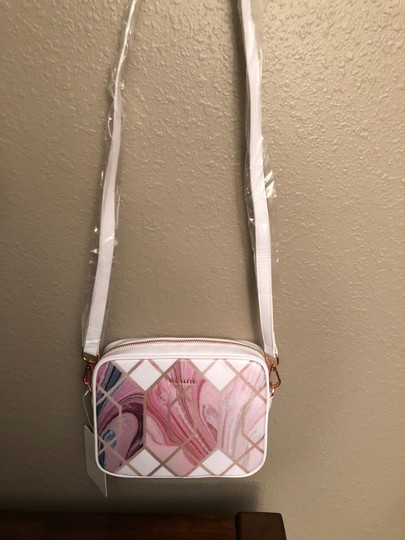 Ted Baker Sea Of Clouds Sky Coasted Canvas Camera Shoulder Cross Body Bag Image 2