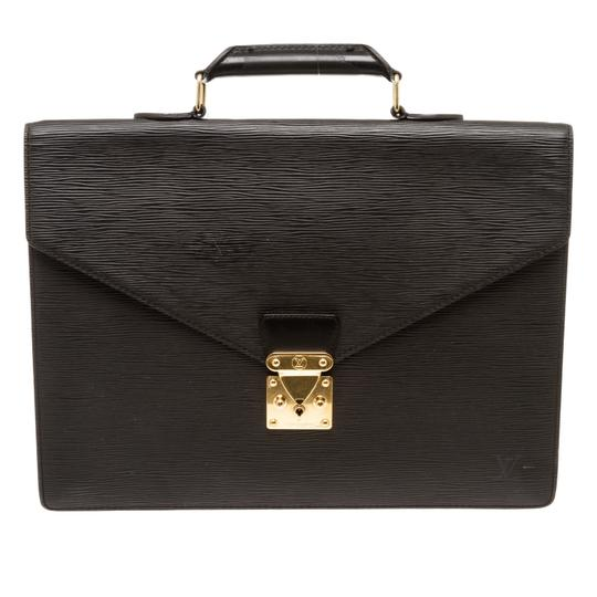 Preload https://img-static.tradesy.com/item/26409029/louis-vuitton-serviette-ambassadeur-briefcase-black-epi-leather-tote-0-0-540-540.jpg