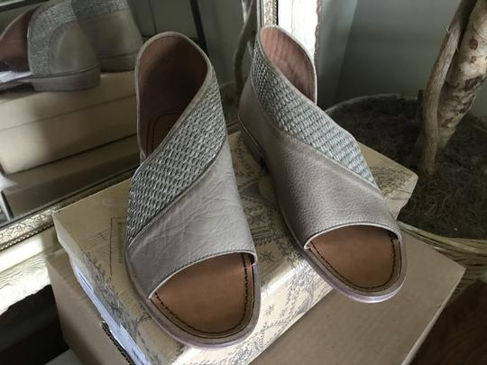 Free People Mont Blanc Leather Taupe/Tan Flats Image 3