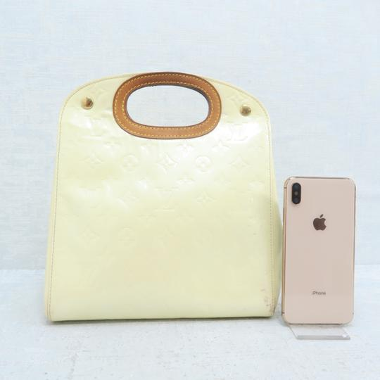 Louis Vuitton Lv Vernis Maple Drive Tote in Yellow Image 1