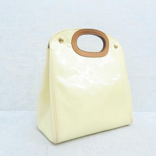 Louis Vuitton Lv Vernis Maple Drive Tote in Yellow Image 3