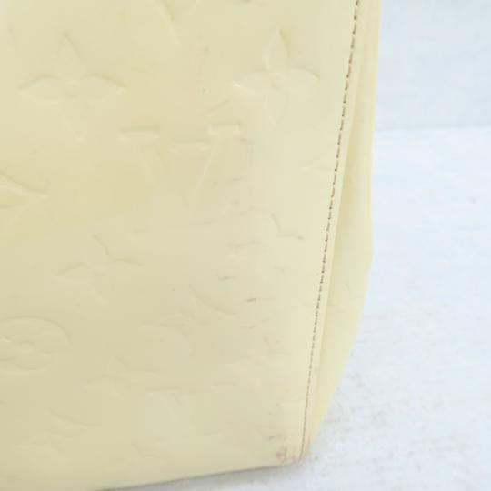 Louis Vuitton Lv Vernis Maple Drive Tote in Yellow Image 8