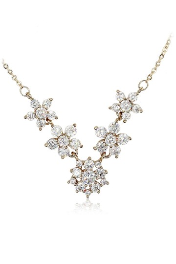 Preload https://img-static.tradesy.com/item/26409328/gold-mini-crystal-flower-clavicle-necklace-0-0-540-540.jpg