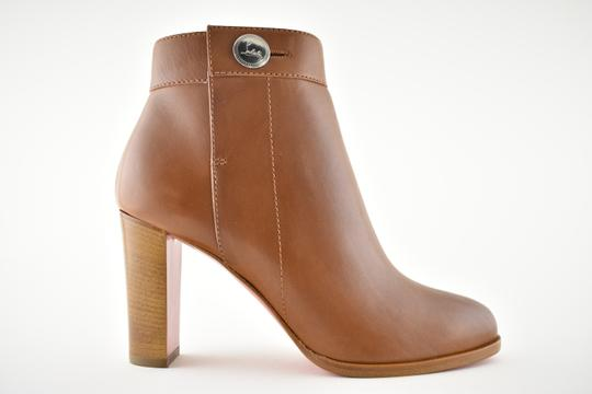 Christian Louboutin Stiletto Ankle Classic Gena brown Boots Image 1