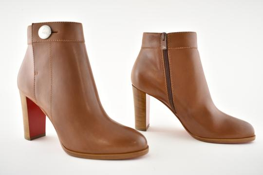 Christian Louboutin Stiletto Ankle Classic Gena brown Boots Image 3