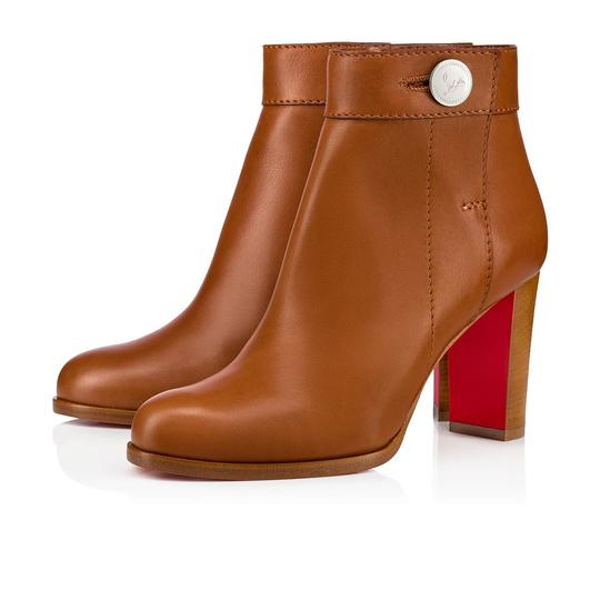 Preload https://img-static.tradesy.com/item/26409402/christian-louboutin-brown-janis-85-cuoio-calf-leather-stiletto-block-heel-ankle-bootsbooties-size-eu-0-1-540-540.jpg