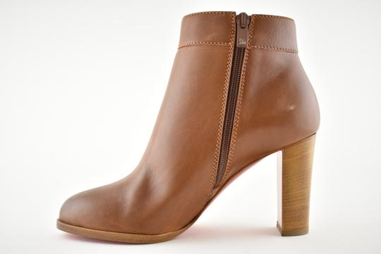 Christian Louboutin Stiletto Ankle Classic Gena brown Boots Image 7
